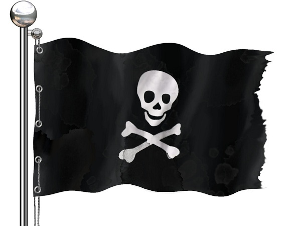 Arr, book piracy can cut deep, me hearties