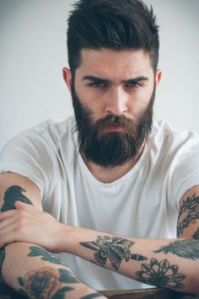 Men with beards - trying too hard