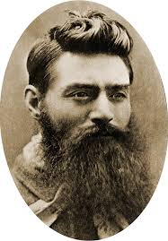 Ned Kelly bush ranger beard