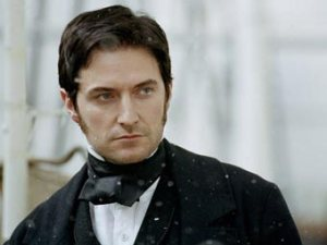 Leave me alone. I'm brooding. Richard Armitage as John Thornton in Elizabeth Gaskell's North and South. Do yourself a favour and watch it. Now. Or he'll brood some more . . .